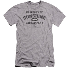 Taxi Property Of Sunshine Cab Premium Adult Slim Fit T-Shirt