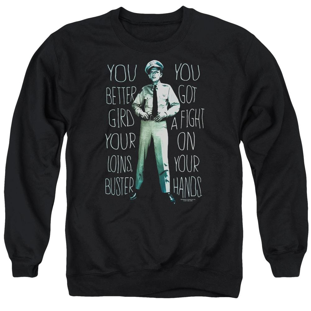 Andy Griffith Show Fight Adult Crewneck Sweatshirt