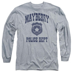 Andy Griffith Show Mayberry Police Adult Long Sleeve T-Shirt