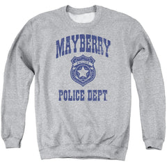 Andy Griffith Show Mayberry Police Adult Crewneck Sweatshirt