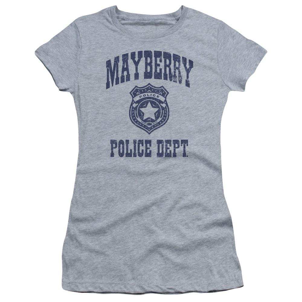 Andy Griffith Show Mayberry Police Junior T-Shirt