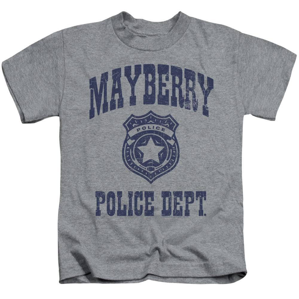 Andy Griffith Show Mayberry Police Kids T-Shirt (Ages 4-7)