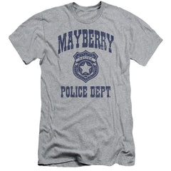 Andy Griffith Show Mayberry Police Adult Slim Fit T-Shirt