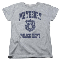 Andy Griffith Show Mayberry Police Women's T-Shirt