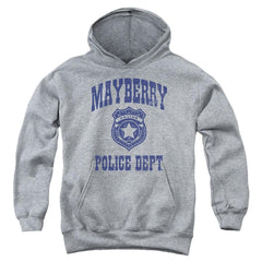 Andy Griffith Show Mayberry Police Youth Hoodie (Ages 8-12)