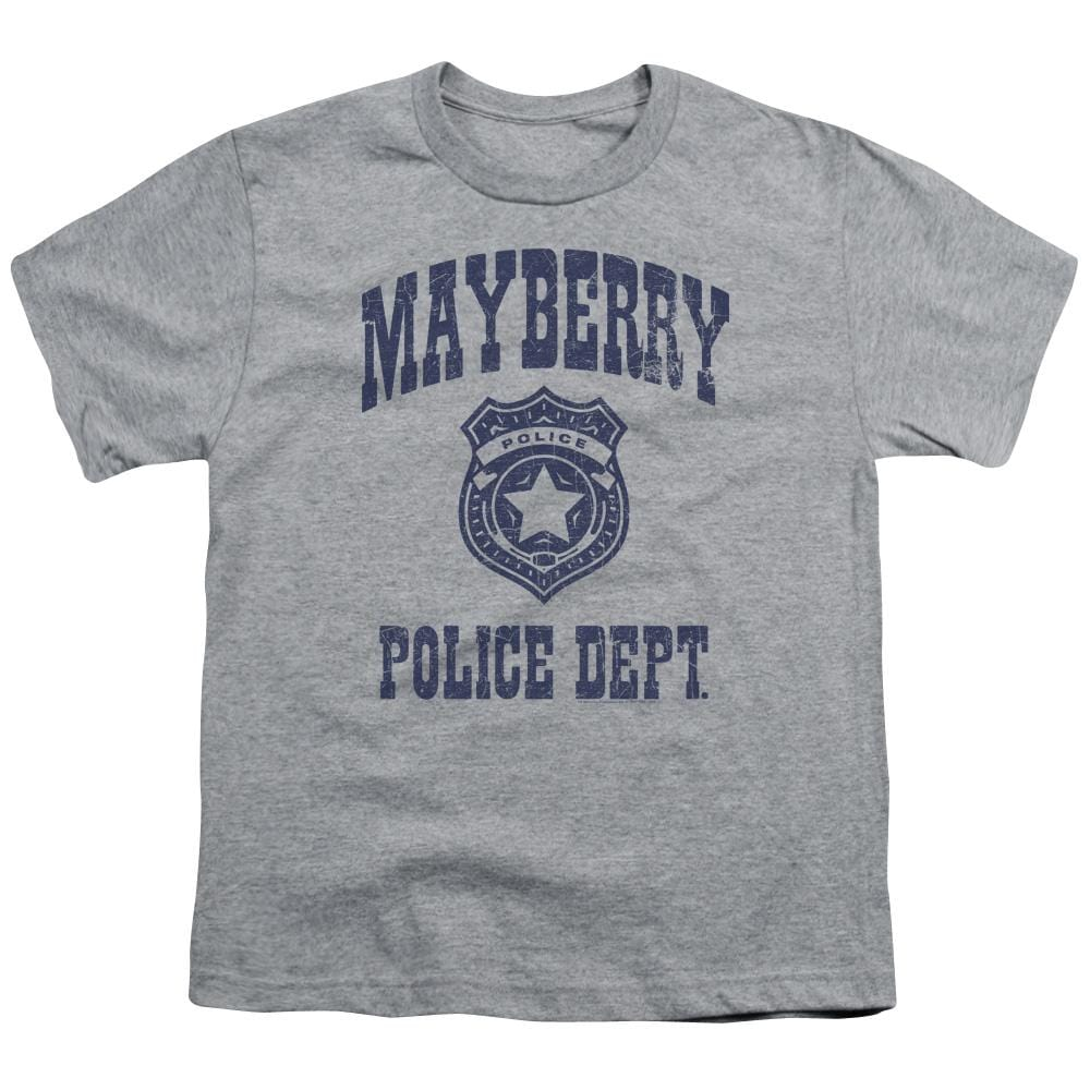 Andy Griffith Show Mayberry Police Youth T-Shirt (Ages 8-12)