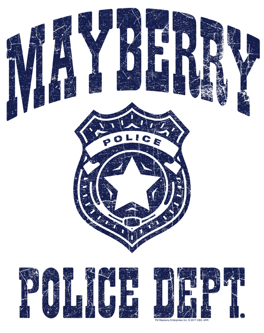 6d39ab62 Andy Griffith Show Mayberry Police Men's Regular Fit T-Shirt - Sons ...