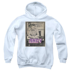 Andy Griffith Show Andy Youth Hoodie (Ages 8-12)