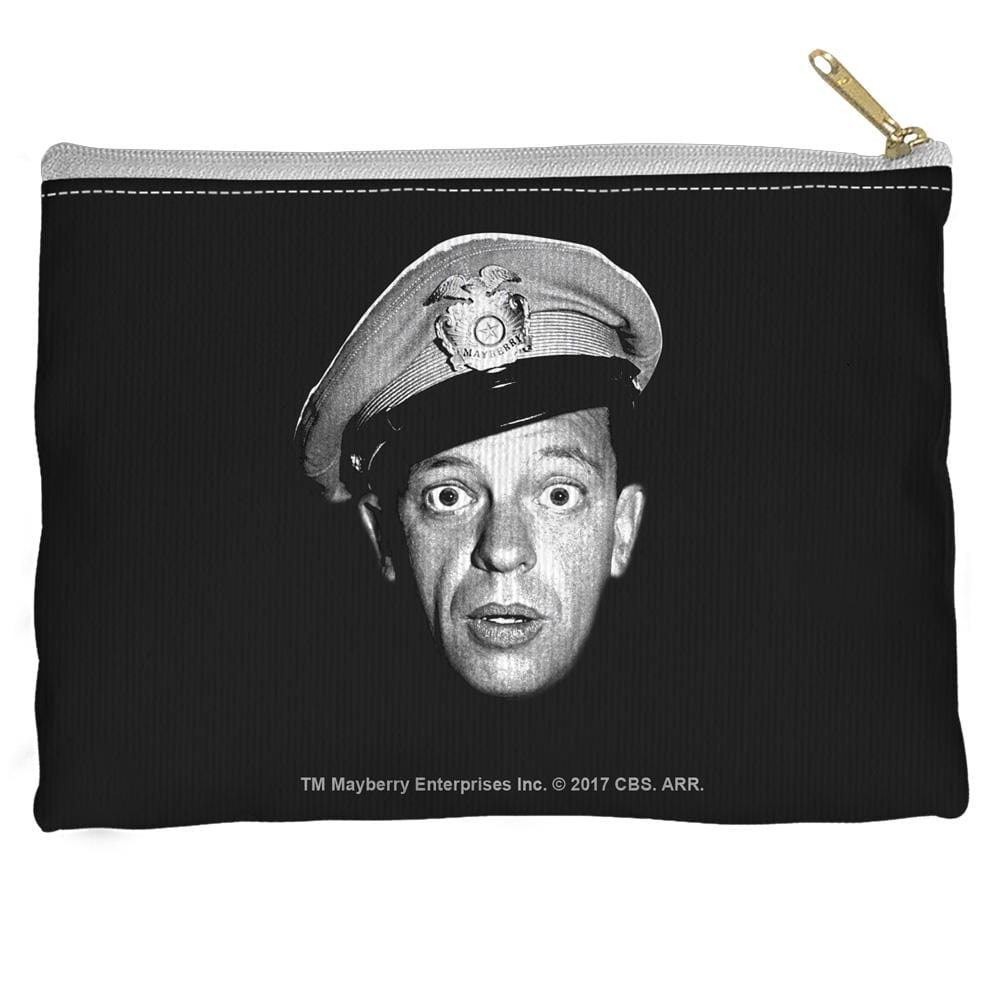 Andy Griffith Show Barney Head Accessory Straight Bottom Pouch