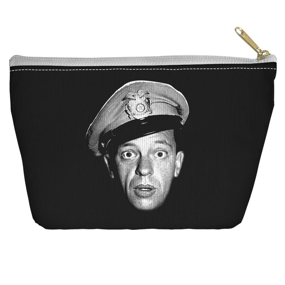 Andy Griffith Show Barney Head Accessory Tapered Bottom Pouch