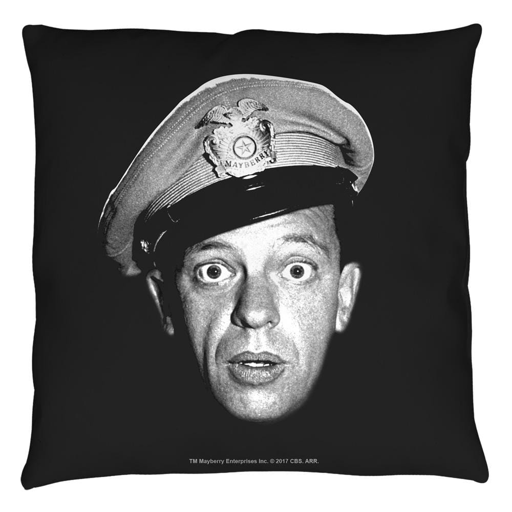 Andy Griffith Show Barney Head Throw Pillow