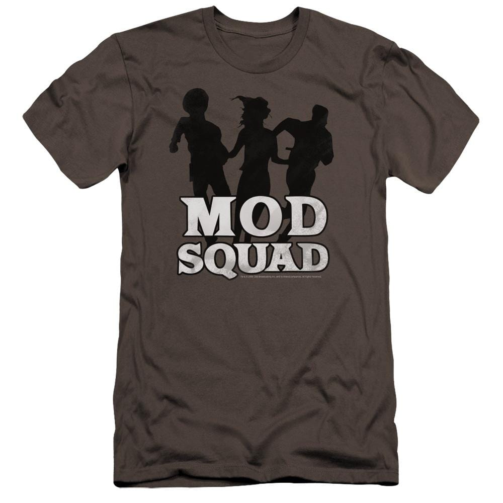 Mod Squad Mod Squad Run Simple Premium Adult Slim Fit T-Shirt