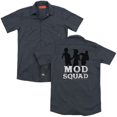 Mod Squad Mod Squad Run Simple Adult Work Shirt