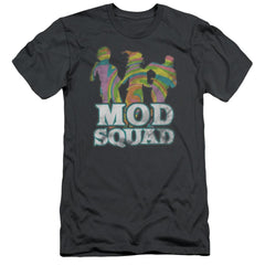 Mod Squad Mod Squad Run Groovy Adult Slim Fit T-Shirt