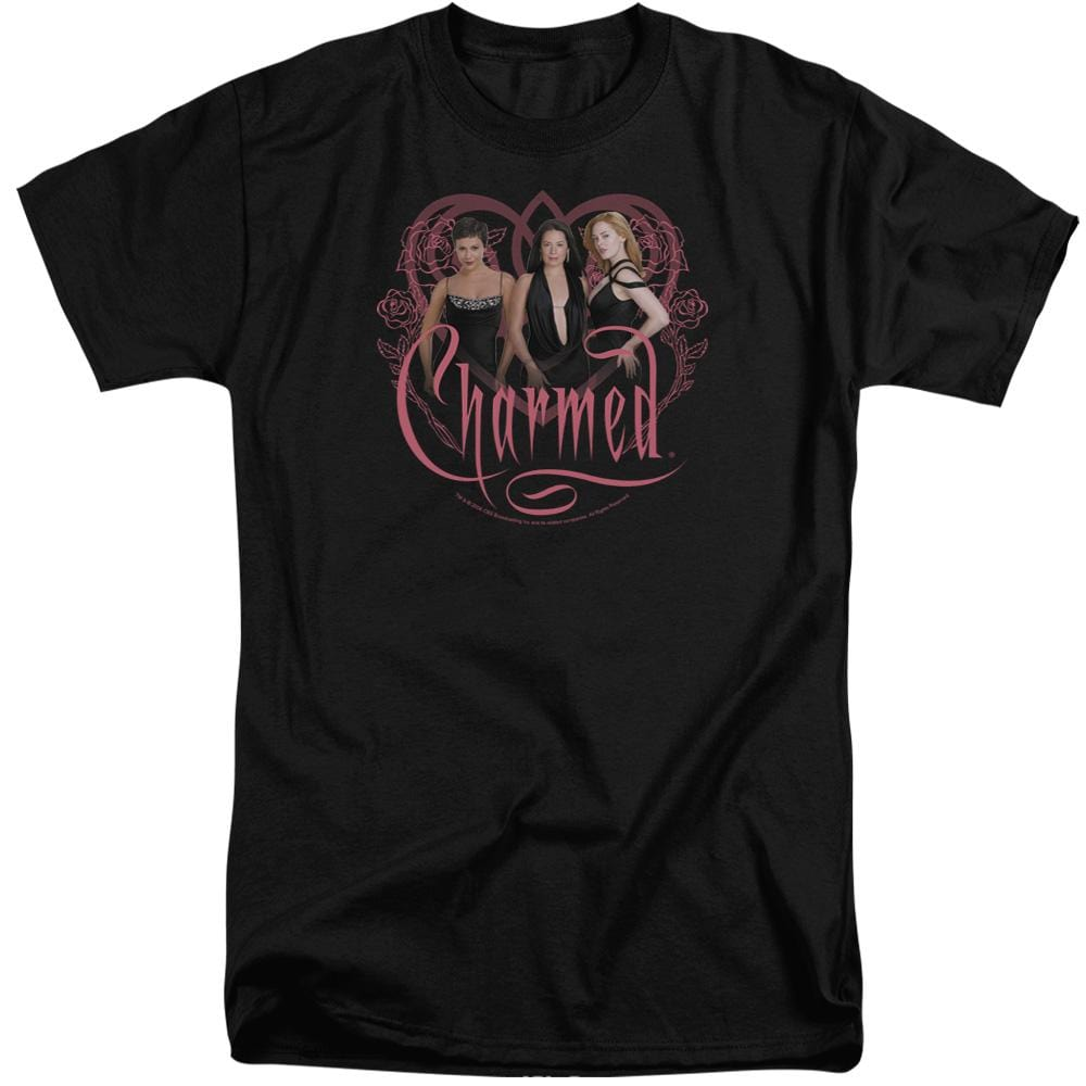 Charmed Charmed Girls Adult Tall Fit T-Shirt