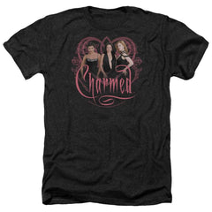 Charmed Charmed Girls Adult Regular Fit Heather T-Shirt