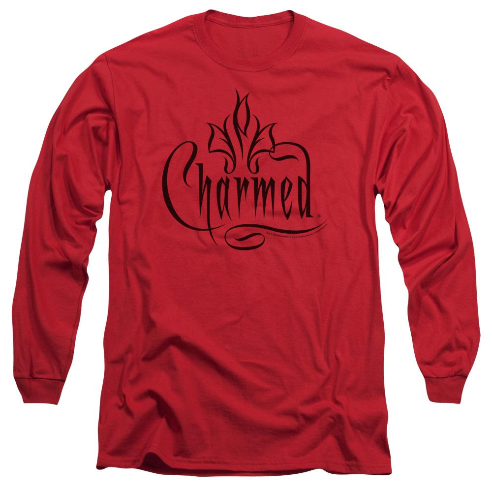 Charmed - Charmed Logo Adult Long Sleeve T-Shirt