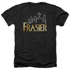 Frasier Frasier Logo Adult Regular Fit Heather T-Shirt