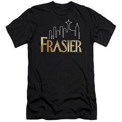 Frasier Frasier Logo Premium Adult Slim Fit T-Shirt