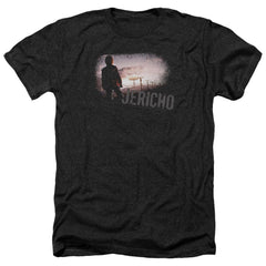 Jericho Mushroom Cloud Adult Regular Fit Heather T-Shirt