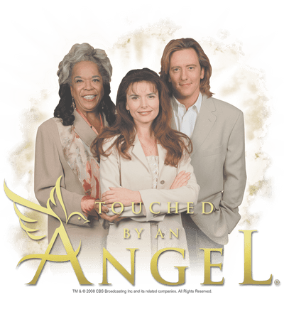 Touched by an Angel An Angel Youth T-Shirt (Ages 8-12)