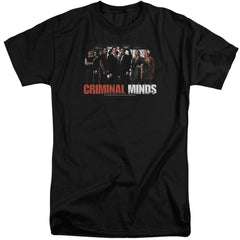 Criminal Minds The Brain Trust Adult Tall Fit T-Shirt