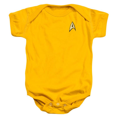 Star Trek Command Uniform Baby Bodysuit