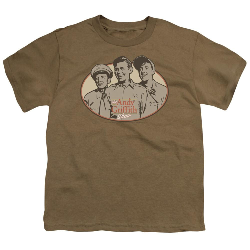 Andy Griffith 3 Funny Guys Youth T-Shirt