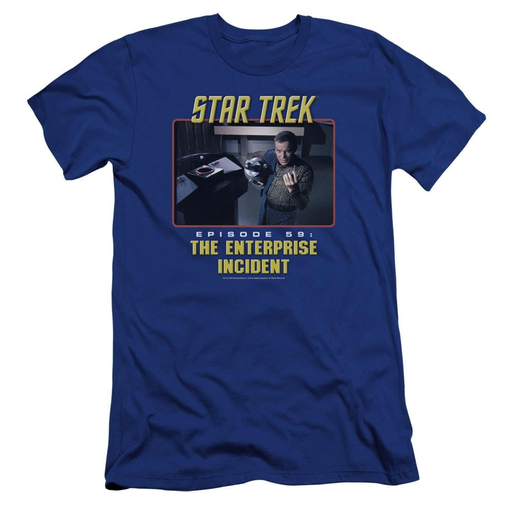 St Original The Enterprise Incident Premium Adult Slim Fit T-Shirt
