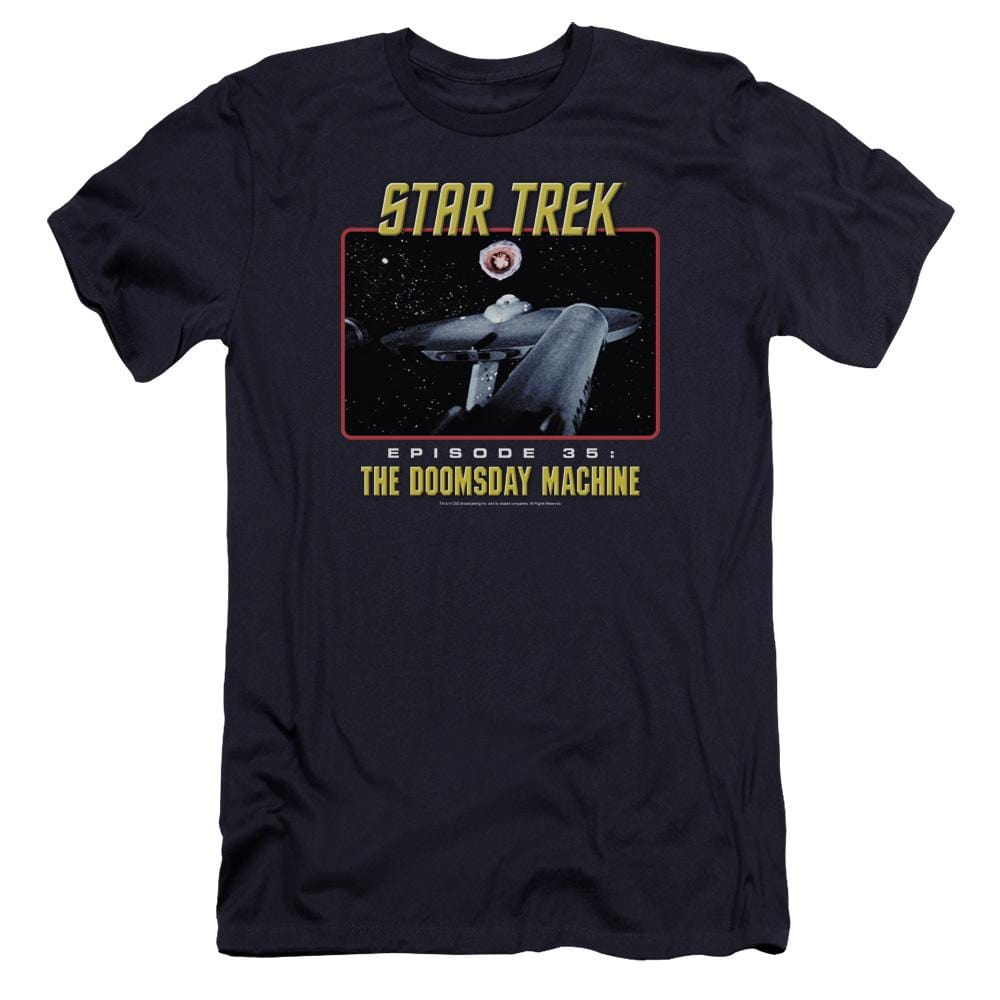 St Original The Doomsday Machine Premium Adult Slim Fit T-Shirt