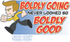 Quogs Boldly Good Men's Regular Fit T-Shirt