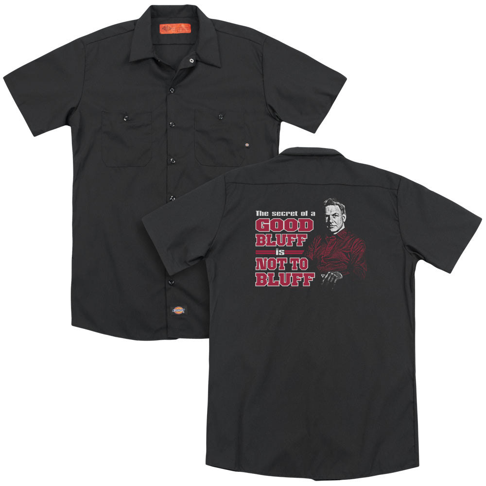 Ncis - No Bluffing  Adult Work Shirt
