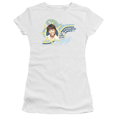 The Love Boat Romance Ahoy Juniors T-Shirt