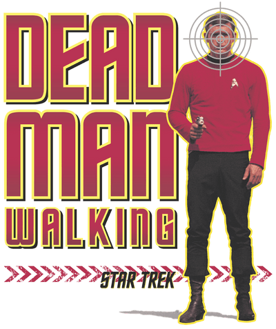 Star Trek Dead Man Walking Men's Regular Fit T-Shirt