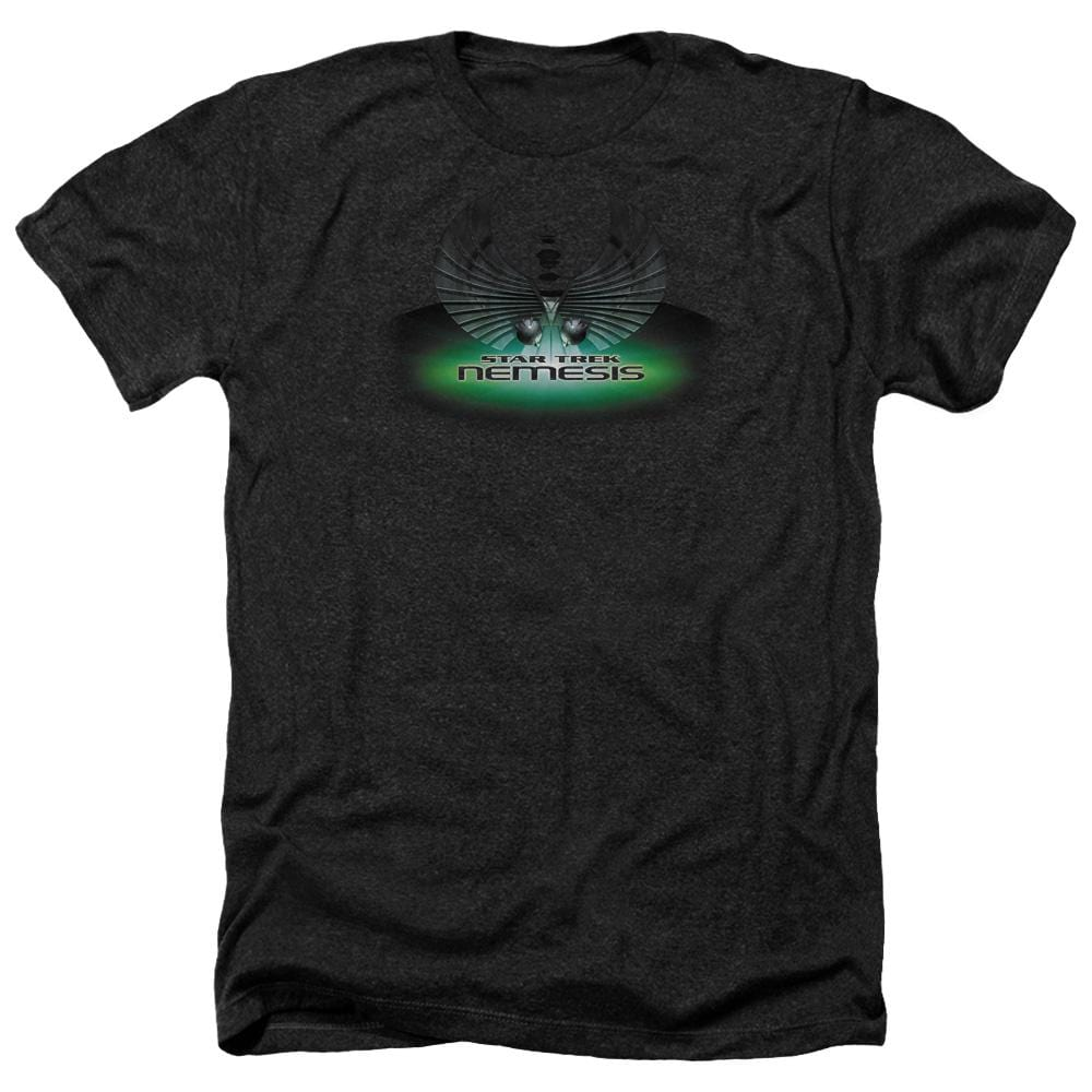 Star Trek Nemesis(movie) Adult Regular Fit Heather T-Shirt