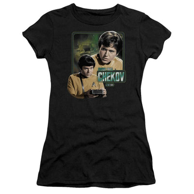 Star Trek Ensign Chekov Juniors T-Shirt