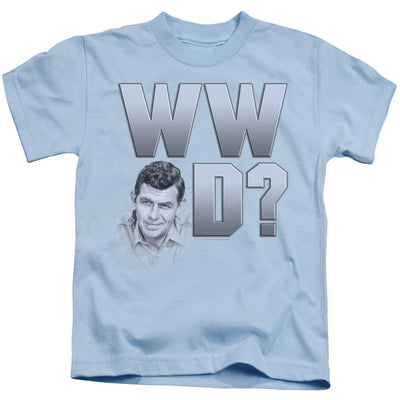 Andy Griffith Wwad Kid's T-Shirt (Ages 4-7)