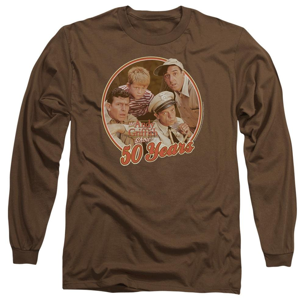 Andy Griffith 50 Years Adult Long Sleeve T-Shirt