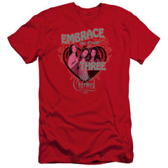 Charmed Embrace The Power Premium Adult Slim Fit T-Shirt