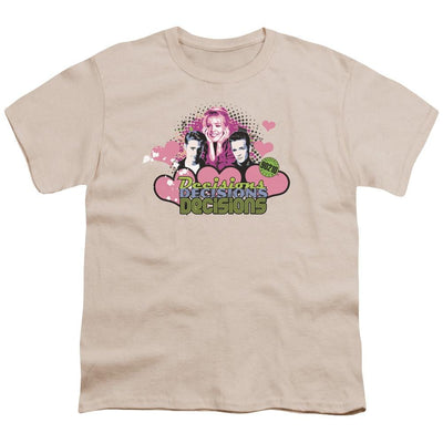 Beverly Hills 90210 Decisions Youth T-Shirt (Ages 8-12)