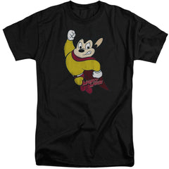 Mighty Mouse Classic Hero Adult Tall Fit T-Shirt