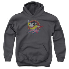 Mighty Mouse - Mighty Circle Youth Hoodie (Ages 8-12)