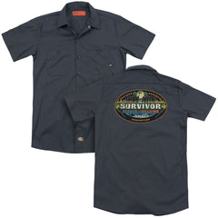 Survivor Heroes Vs Villains Adult Work Shirt