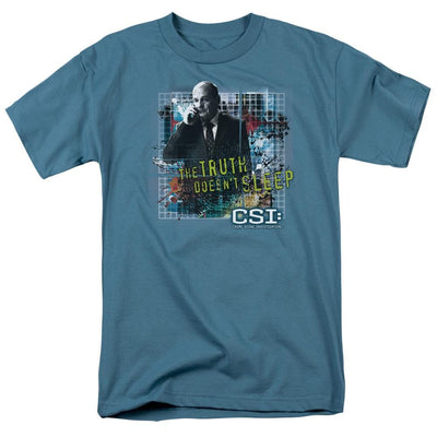 CSI Truth Doesnt Sleep Men's Regular Fit T-Shirt