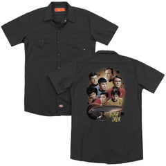 Star Trek Heart Of The Enterprise Adult Work Shirt