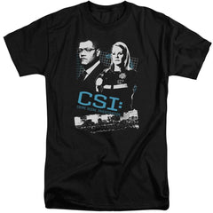 Csi Investigate This Adult Tall Fit T-Shirt