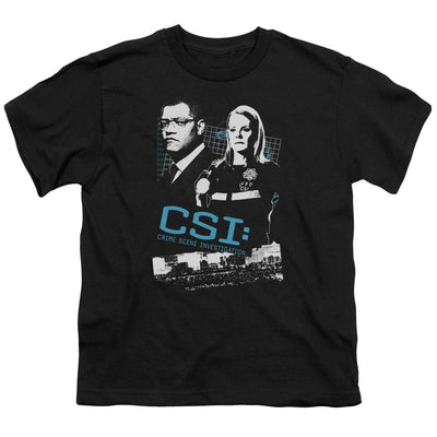 CSI Investigate This Youth T-Shirt (Ages 8-12)