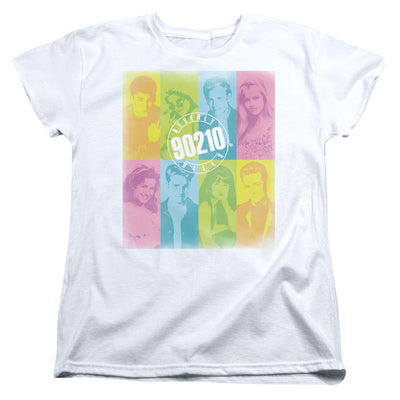 Beverly Hills 90210 Color Block Of Friends Women's T-Shirt