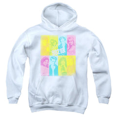 90210 Color Block Of Friends Youth Pull-Over Hoodie