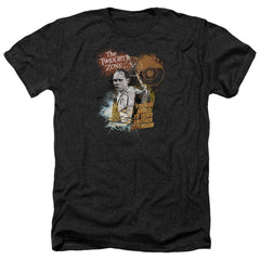Twilight Zone Enter At Own Risk Adult Regular Fit Heather T-Shirt
